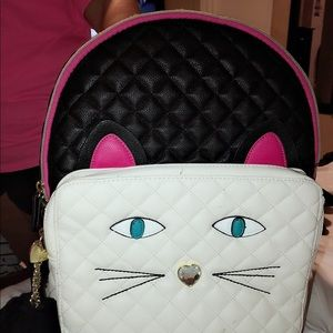 Kitty Betsey Johnson backpack